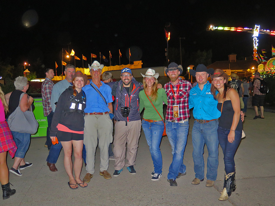The Crew at the Stampede